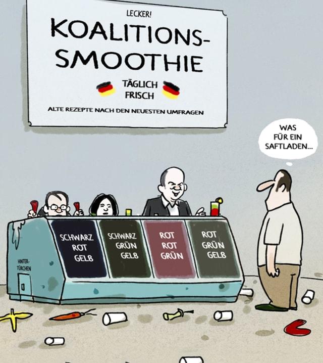 Cartoon: Markus Grolik