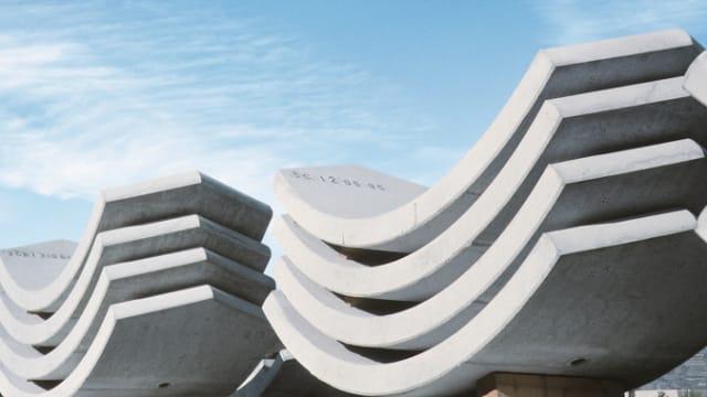 Zement, Betonelement, Fertigteil aus Beton