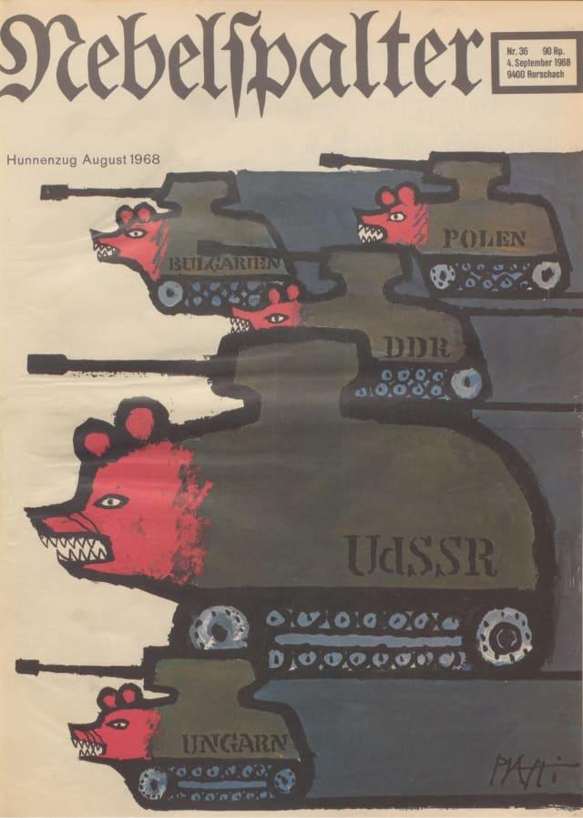 Ikonisches Cover zum Kalter Krieg