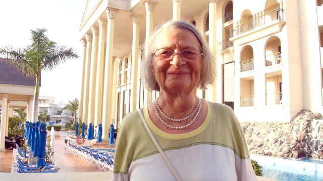 Markus Frutigs Mutter in Teneriffa: Damals fielen ihm die ersten Anzeichen der Demenz bei ihr auf.