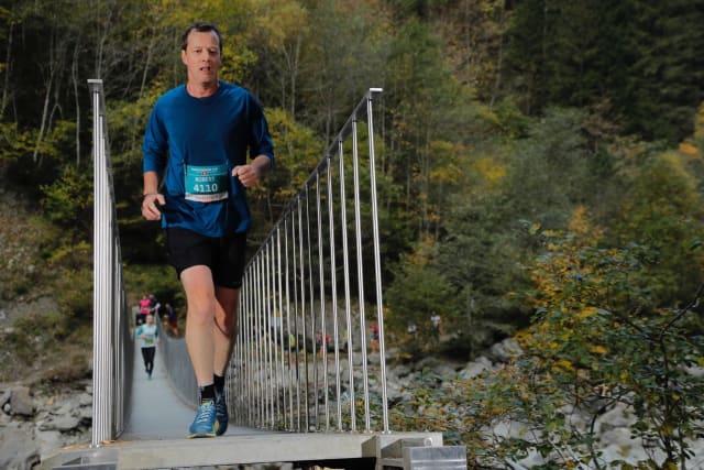 Autor Robert Peterhans bei einem Lauf: Er findet, dass es mehr Angebote für sportliche Ältere geben sollte.