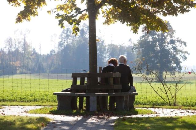Beziehungen sind nach einer Demenz-Diagnose einer Zerreissprobe ausgesetzt. Bild: Dominique Meienberg