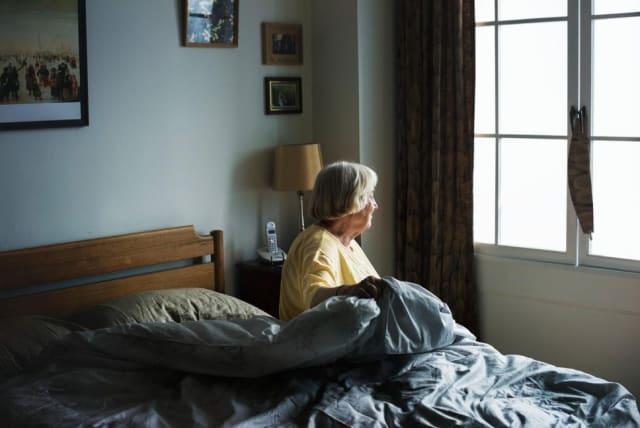 Das Gehirn von älteren depressiven Menschen scheint für Aussenstehende langsamer zu arbeiten.