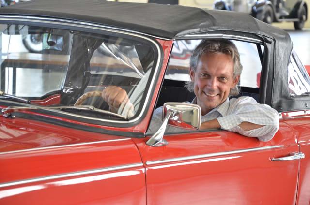 Messe-Organisator Bernd E. Link: «Ich habe mein erstes Auto immer noch. Es ist ein VW-Käfer, Baujahr 70»