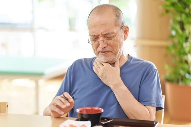 Schluckstörungen sind belastend und können das soziale Leben beeinträchtigen.