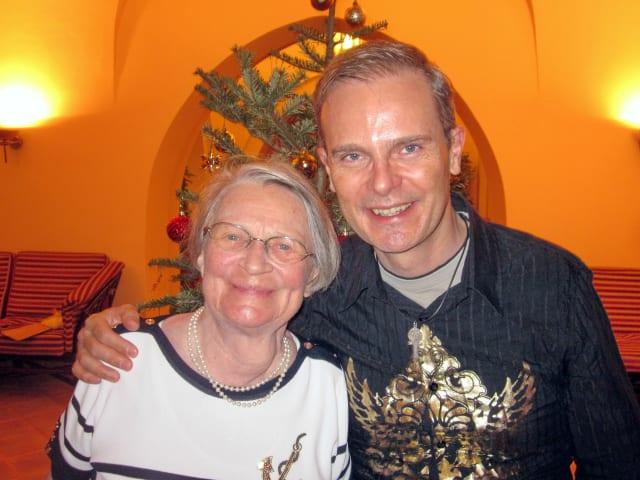 Markus Frutig feierte 2014 mit seiner Mutter in Ägypten Weihnachten – eine Reise mit Hindernissen. (Bild: M. Frutig/INOVERIS.ch)