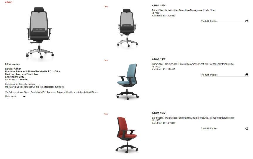 Witzig - Virtual Showroom - Büromöbel
