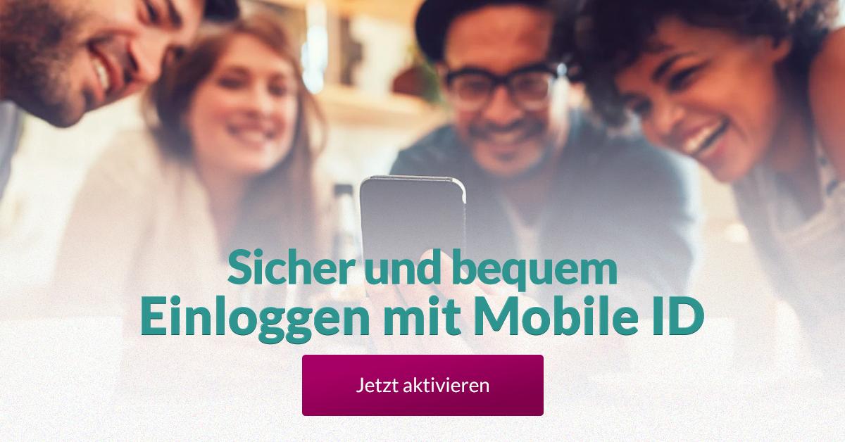 mobile de einloggen