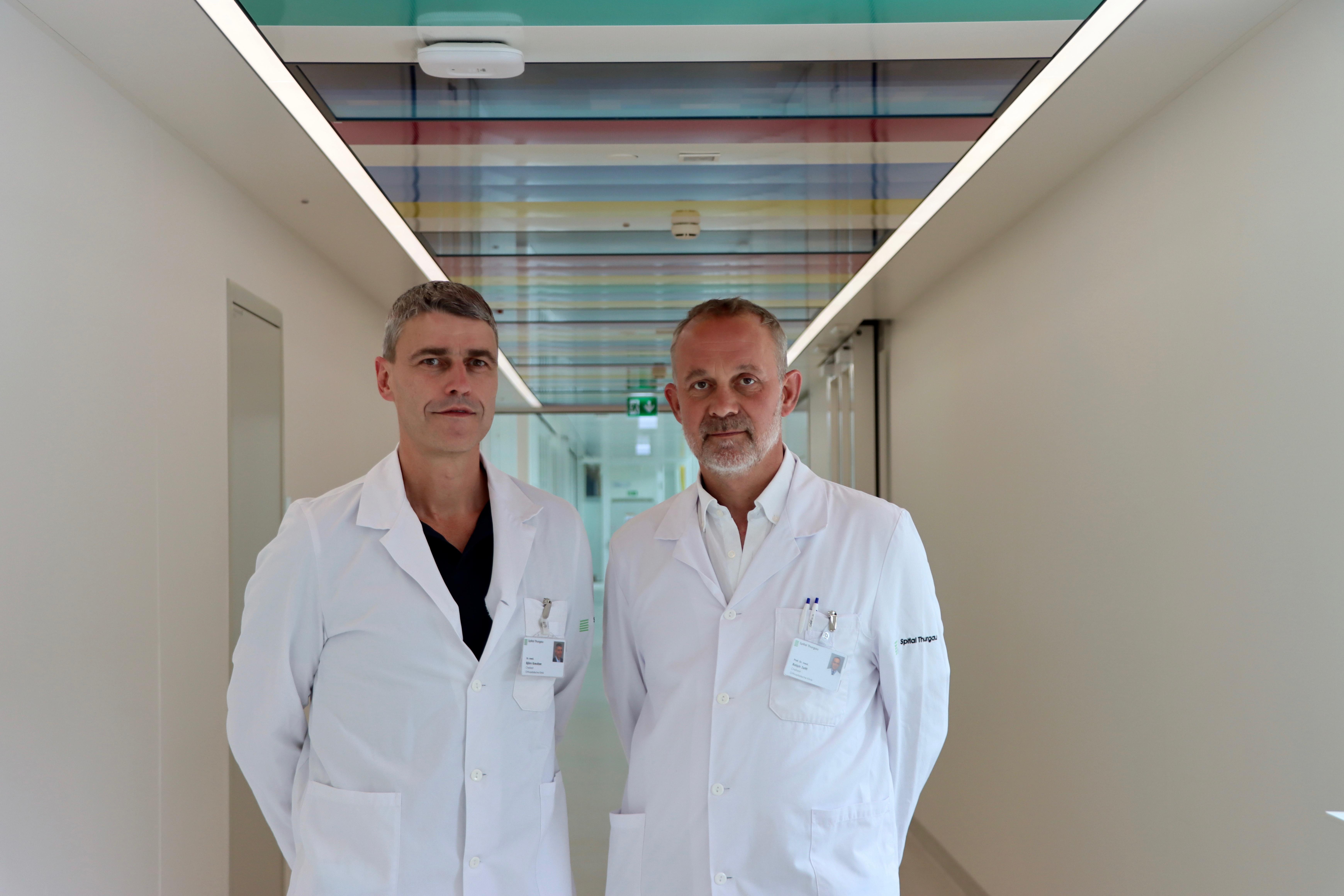 Hier entsteht eine der grössten Orthopädie-Kliniken der Schweiz