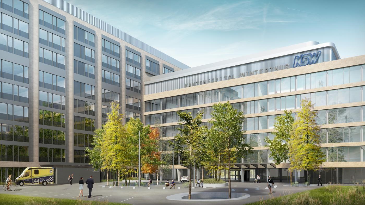 Vamed und Kantonsspital planen Reha-Klinik