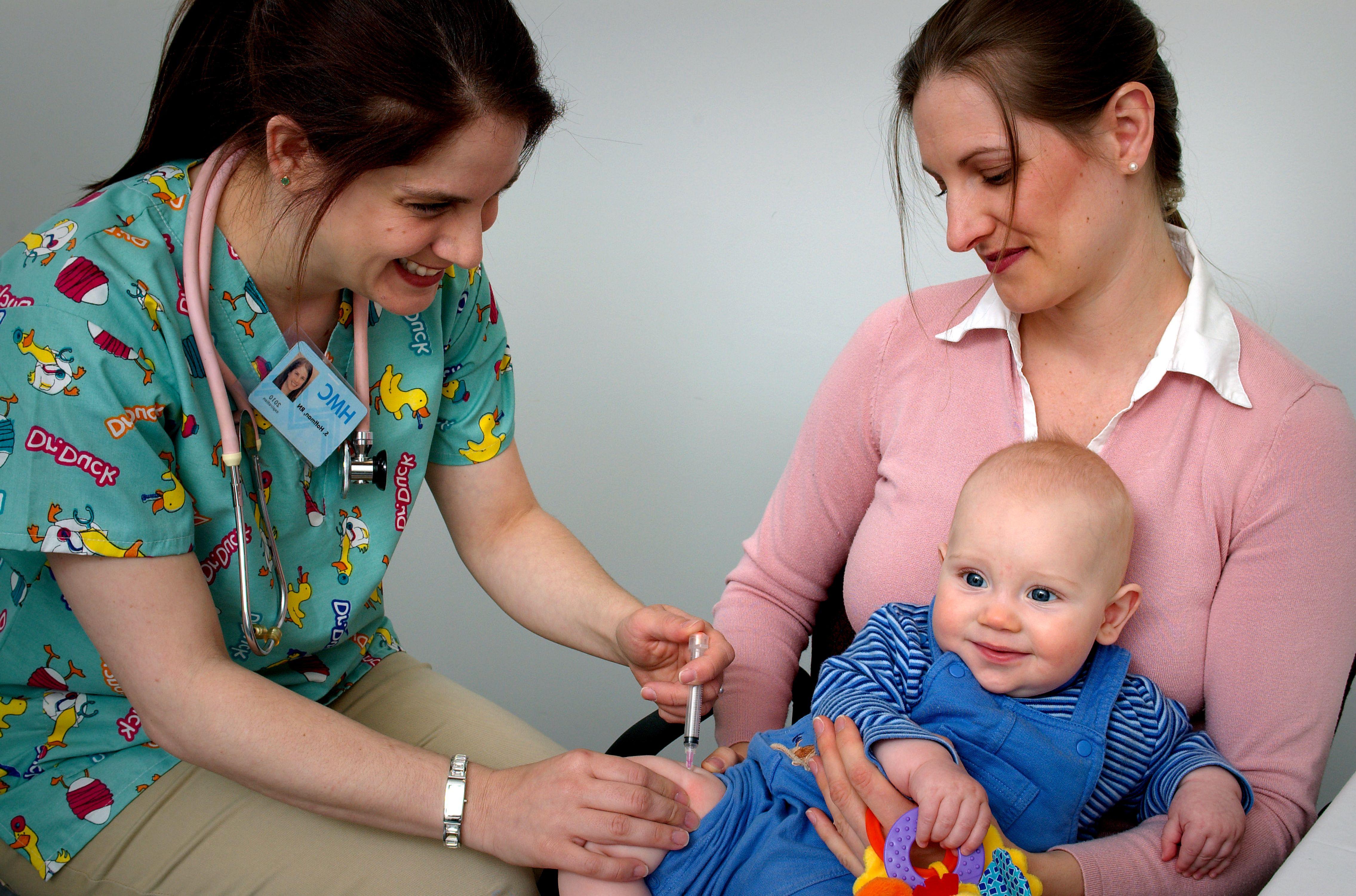 Corona: Weltweit erste bekannte Impfung bei einem Säugling