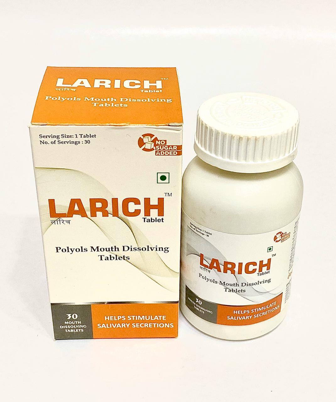 LARICH MD Tabs