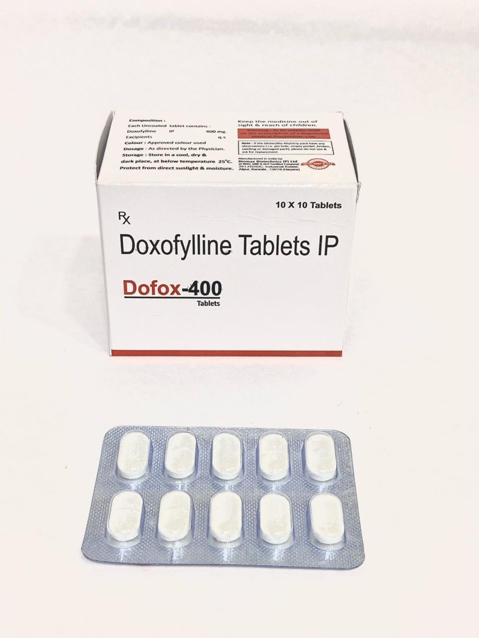 DOFOX Tab