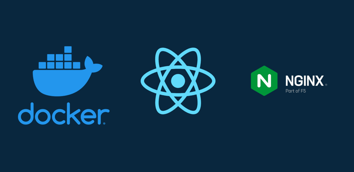 React + Docker + Nginx with multi-stage builds