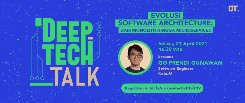 Cover image for (Link Pendaftaran DT Talk 19) Paham bahasa pemograman aja gak cukup kalo mau jadi programmer handal!