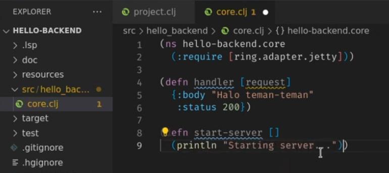 Cover image for Ngoding Backend Clojure dengan Ring