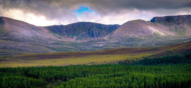 Cairngorms, Ben Nevis and Coast