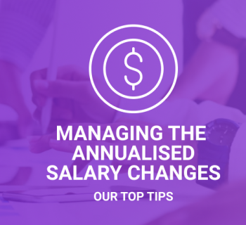 Annualised salary changes