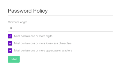 Customisable-Password-Policy