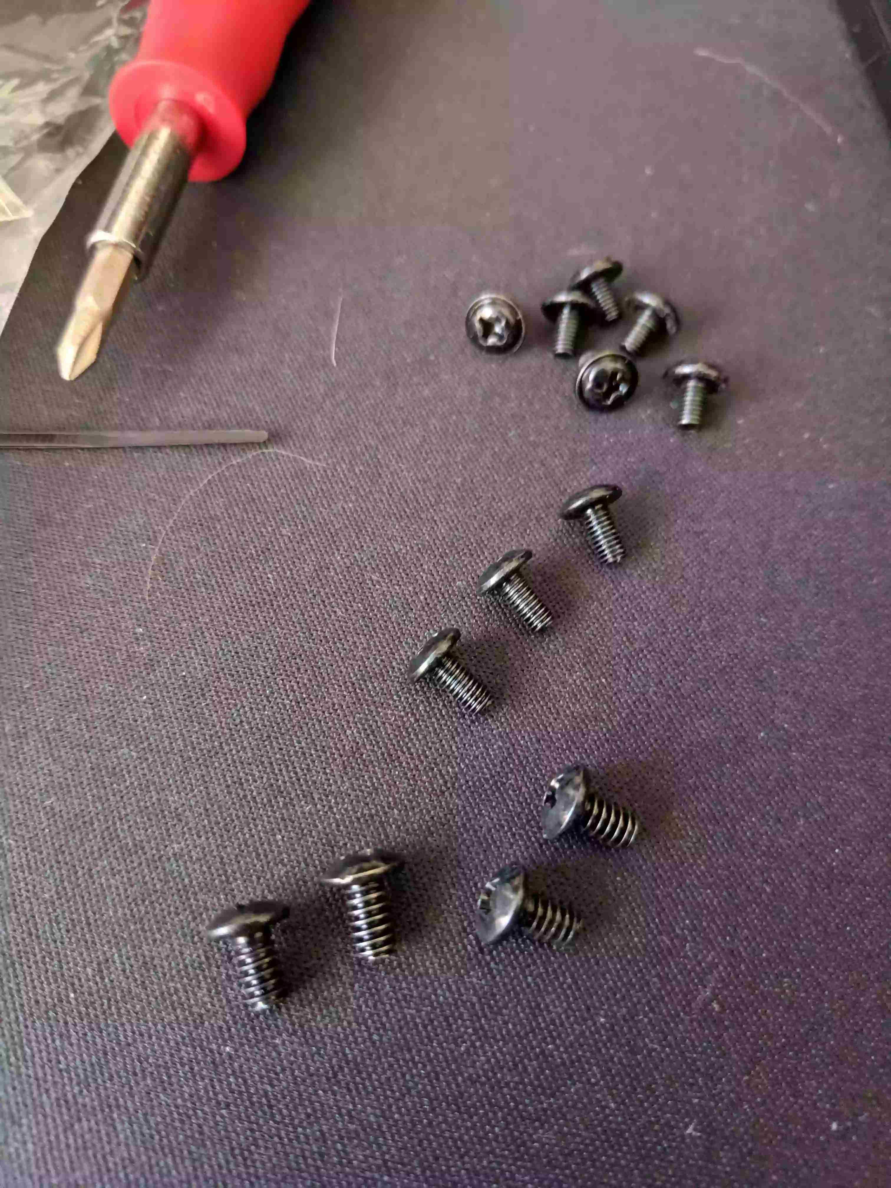 case screws