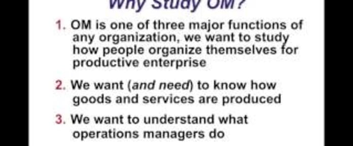 How to Learn Operations Management   Degreed