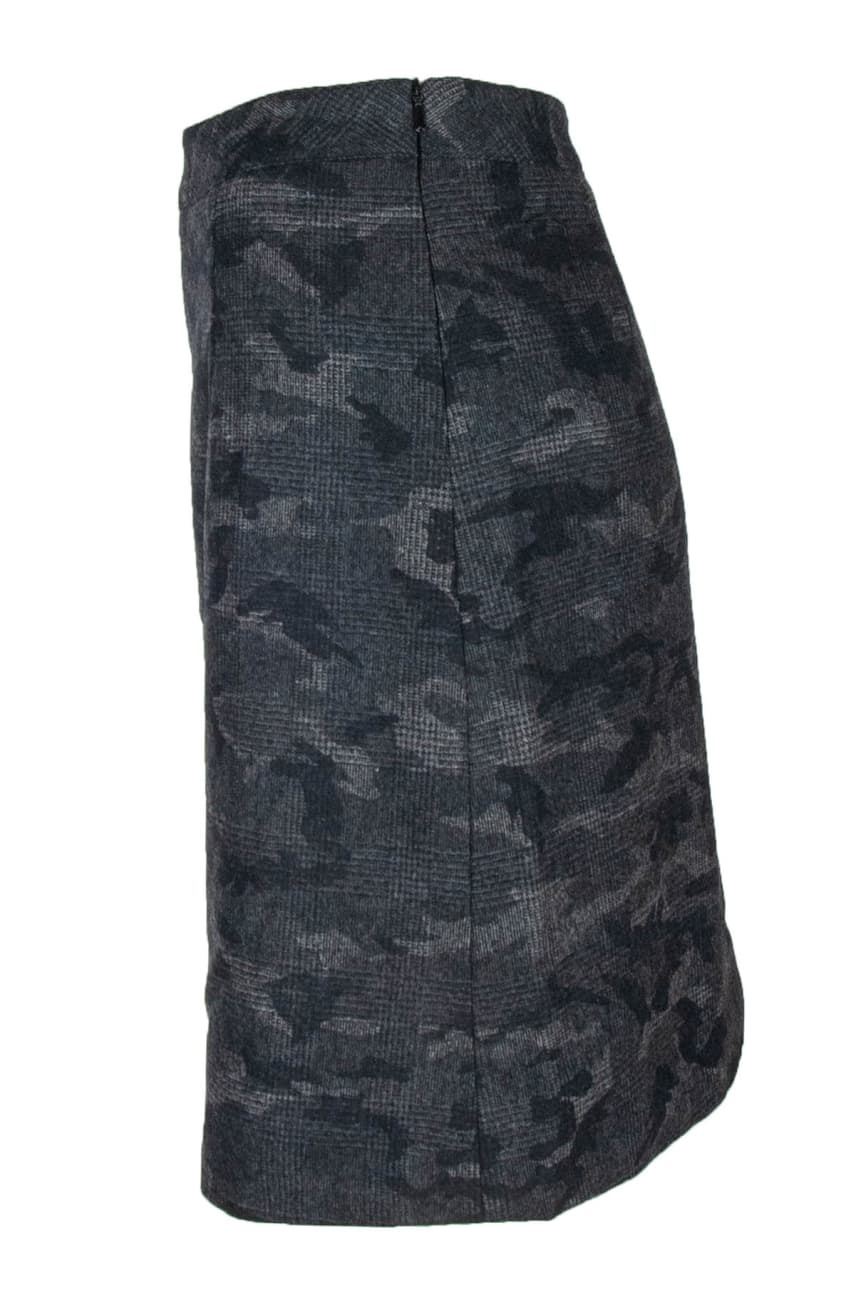 6fb21c4e Grey Check Skirt deguy.no