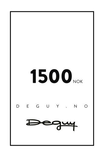 GAVEKORT 1500