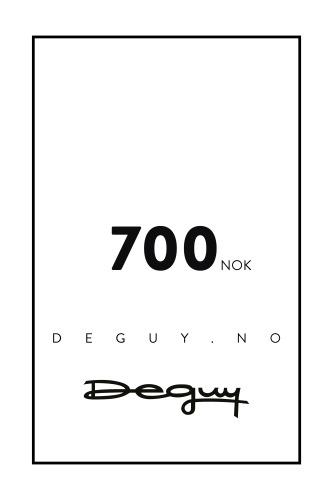 GAVEKORT 700