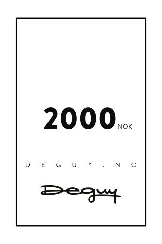GAVEKORT 2000
