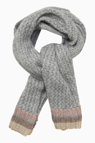 KNITTED SCARF 25803