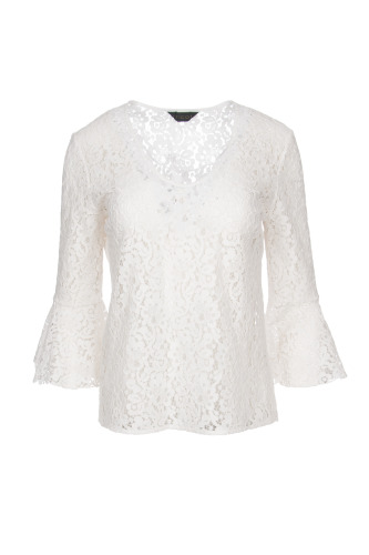 LACE V TOP
