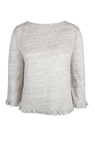 Linum Frill Sweater