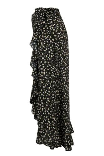 Wrap Black Skirt