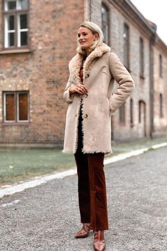 Curly Lammy Coat