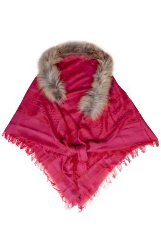Paisley Fur Scarf
