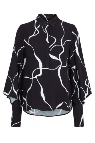 INA ABSTRACT SHIRT