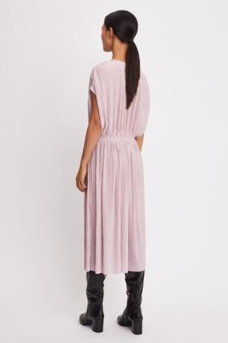 Wave Plisse Dress