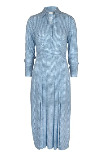 Lt Blue Dot Dress