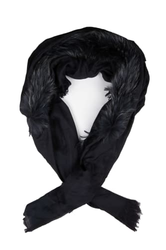 Chopin Fur Scarf