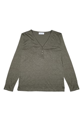 Button Linen Sweater