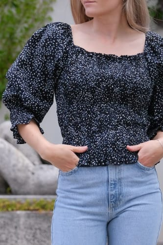 Liba Flower Blouse