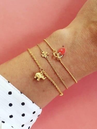 Bracelet, Clover
