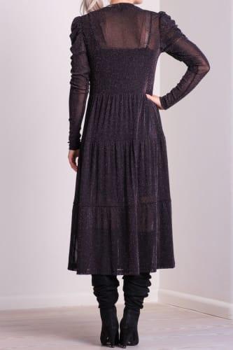 Marie Glitter mesh dress