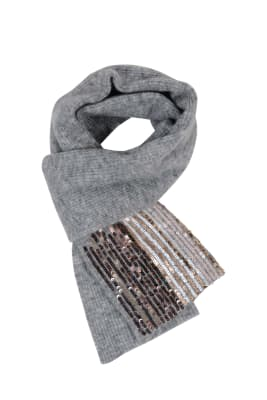 Scarf with Sequins