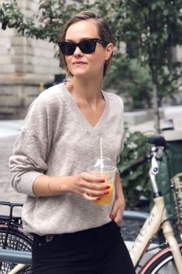 Linen Cotton Sweater