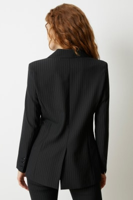Blazer Lined Pinstripe