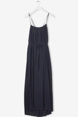 Gathered Strap Dress
