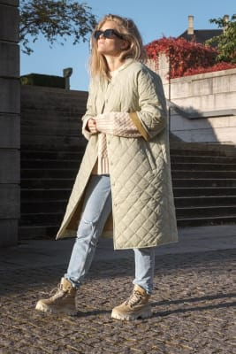 Julia Quilt Coat