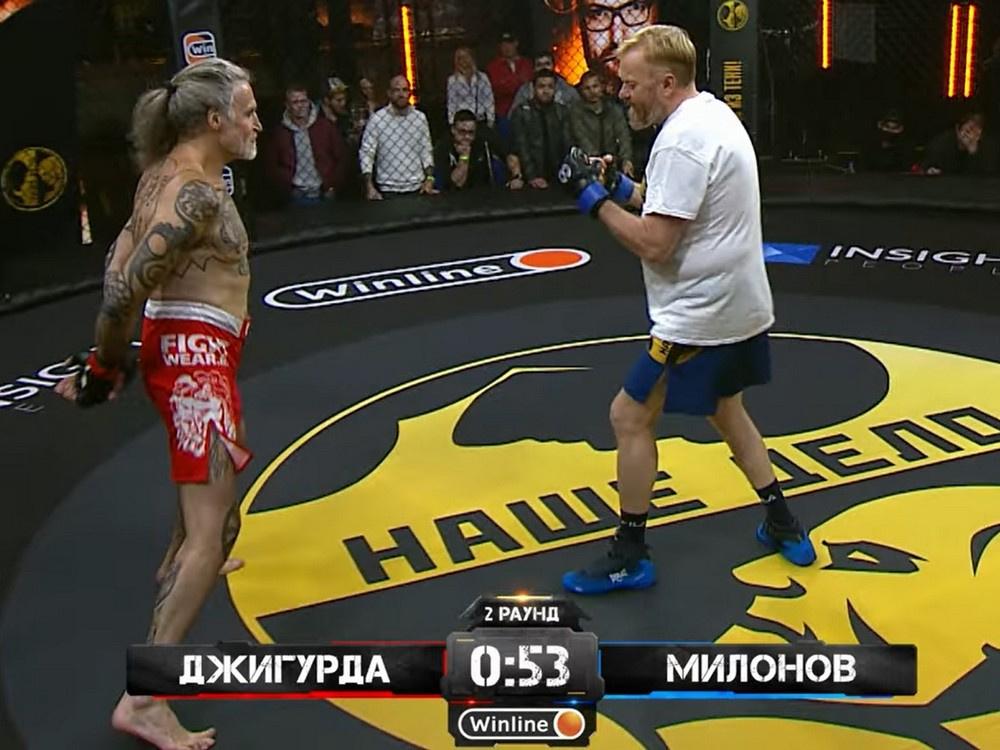 Джигурда о бое с Милоновым: «Перед рингом Виталия одолел страх»