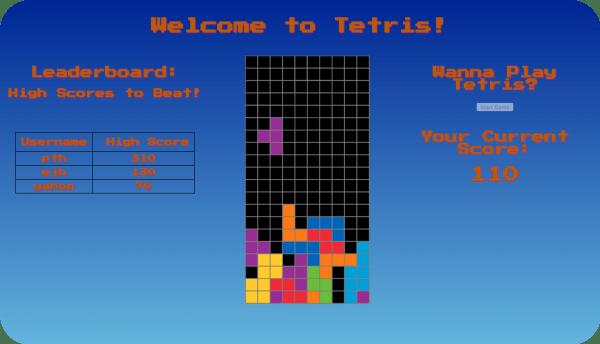 Thumbnail for JS Tetris